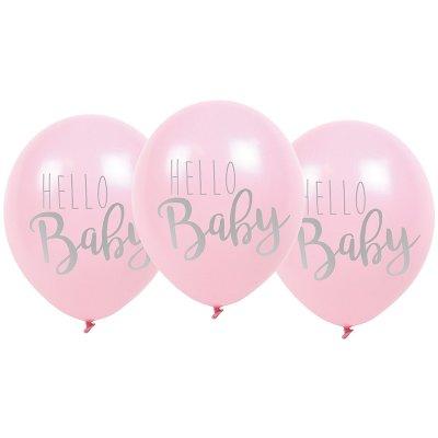 hello baby ballong